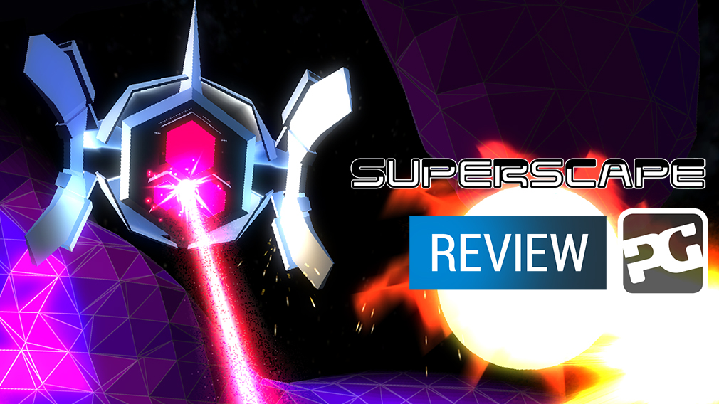 "Superscape video review - ""Endless blaster gets stuck in the mud"""