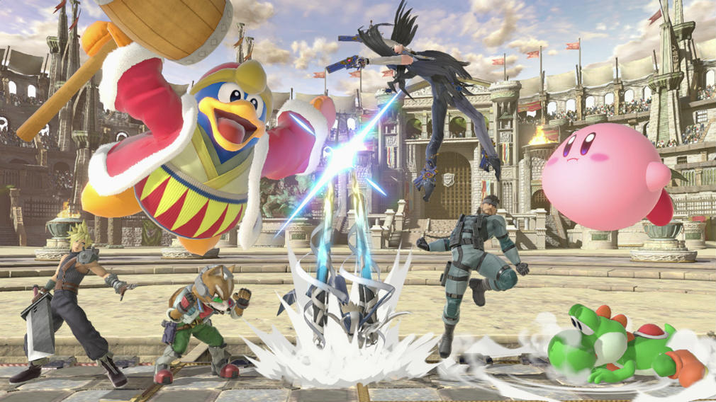 Check out 7 whole minutes of Super Smash Bros. Ultimate action in this new video