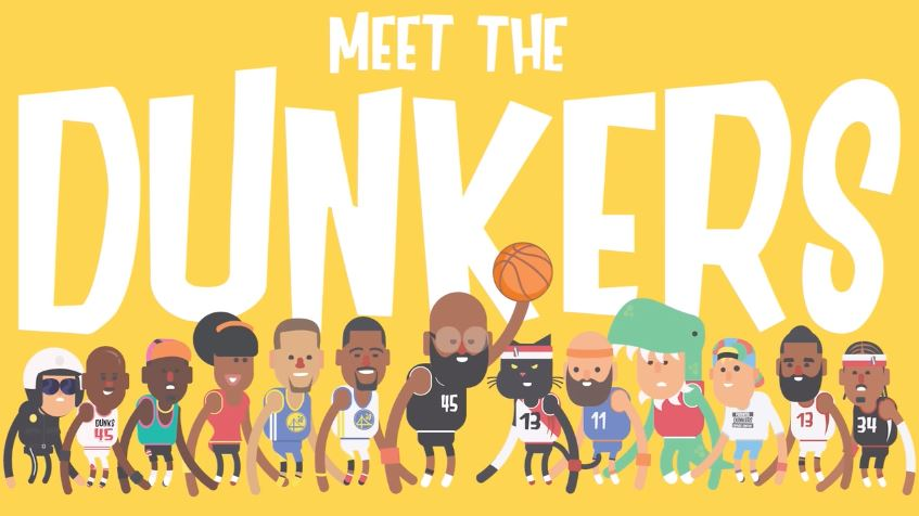 Colin Lane's basketball flailing sequel Dunkers 2 arrives on iOS next week