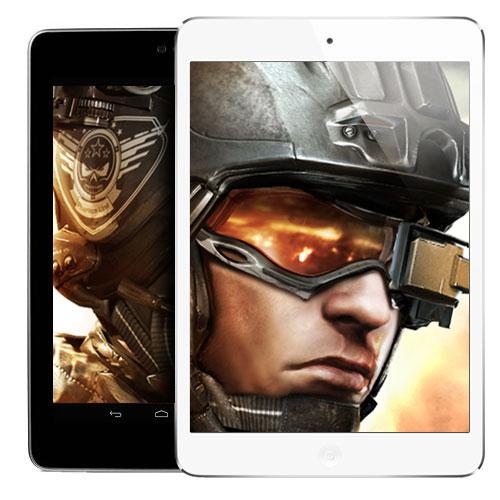 The Tablet Test: iPad mini vs Android Nexus 7, featuring Modern Combat 4: Zero Hour