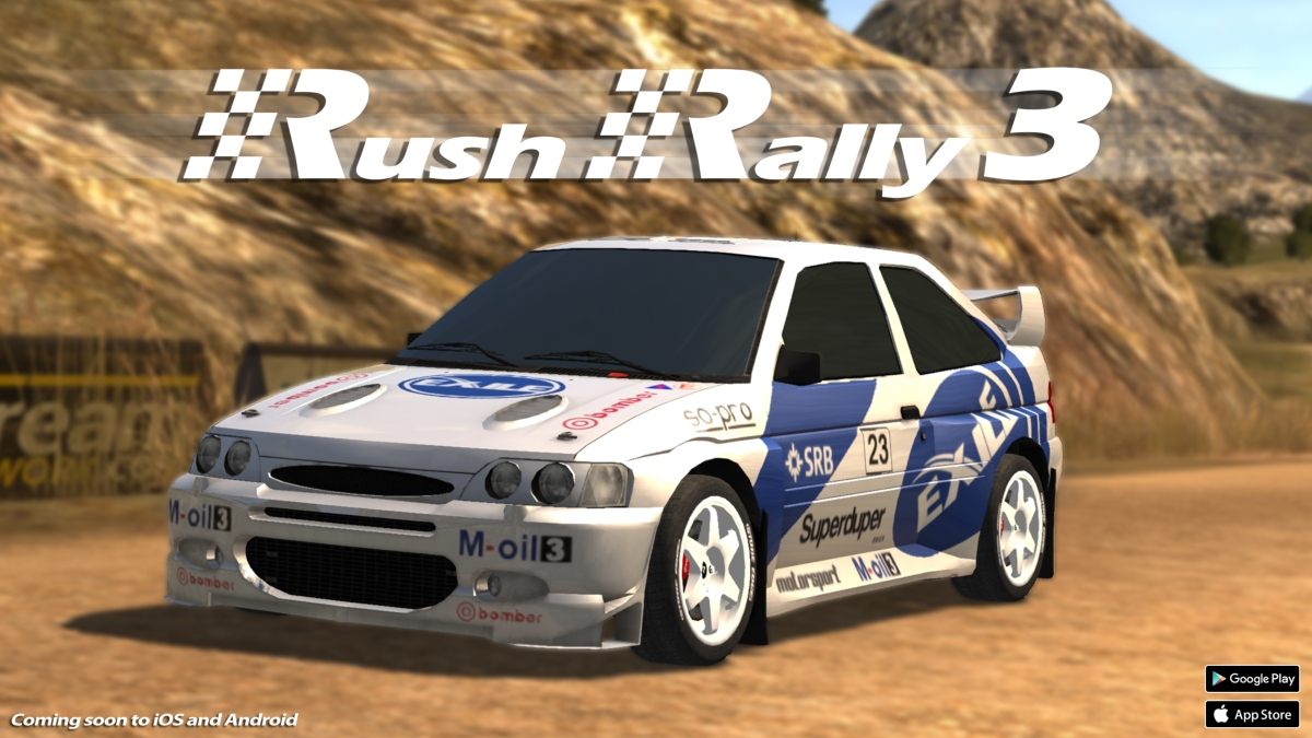 Register now to take Rush Rally 3's beta for a spin