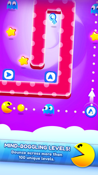 Pac-Man bounces onto iOS with a free to play puzzler Pac-Man Bounce
