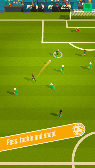 Solid Soccer is a simplified take on the beautiful game with multiplayer, out now on iOS