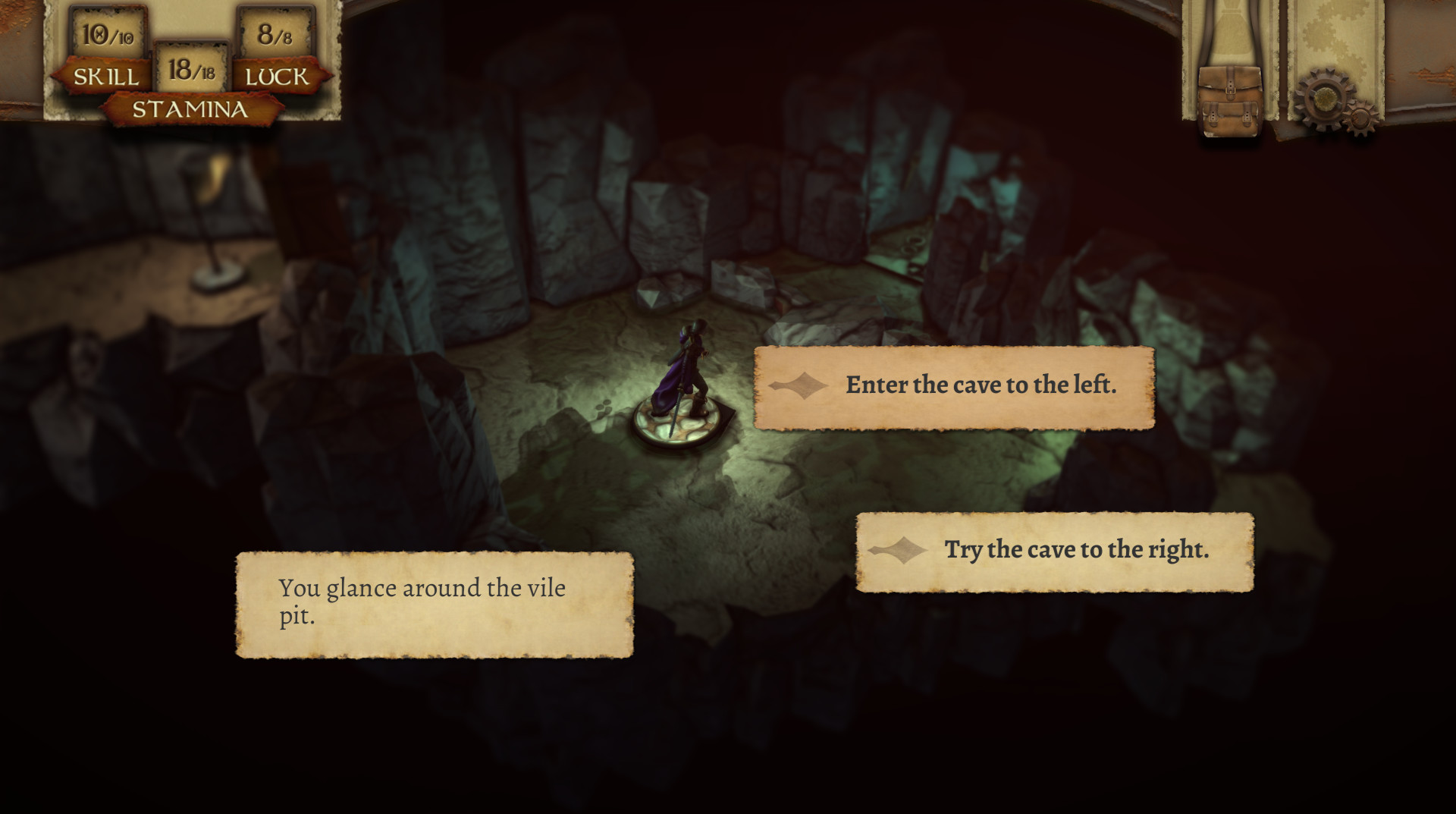 The Warlock of Firetop Mountain brings a new take on the gamebook to iOS on February 22nd