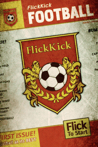 iPhone casual hit Flick Kick Football now a universal app