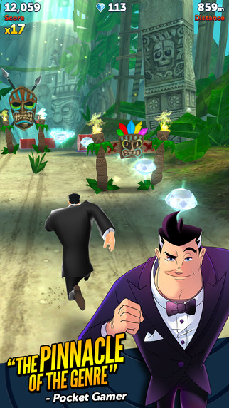 Agent Dash gets a complete overhaul with new engine, graphics, characters, and gadgets