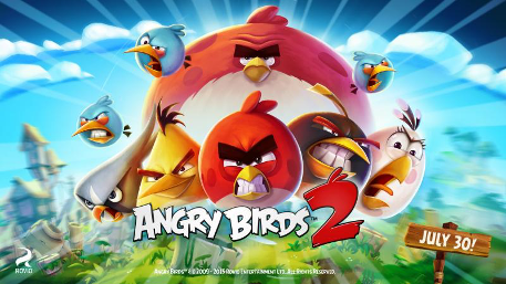 Angry Birds 2 has been downloaded 30 million times already