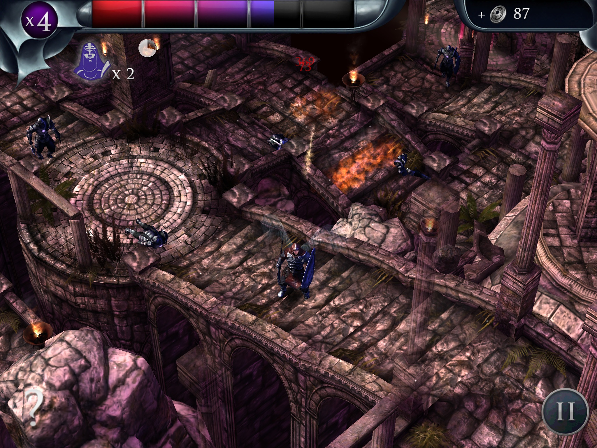 Bronze Award-winning dungeon-crawler Archangel drops from heaven and lands on Android