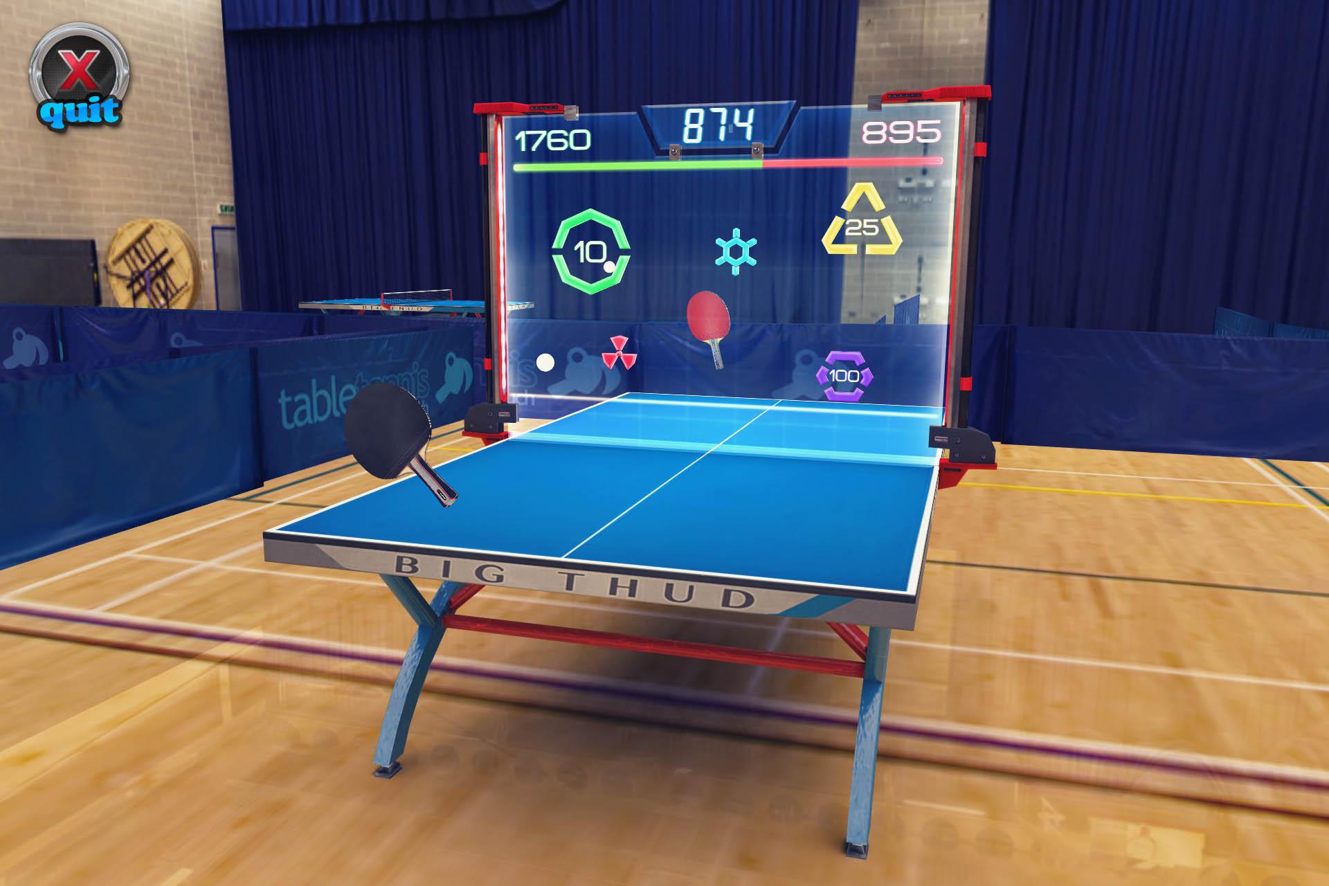 Table Tennis Touch gets online multiplayer and much more in 2.0 update [Update]