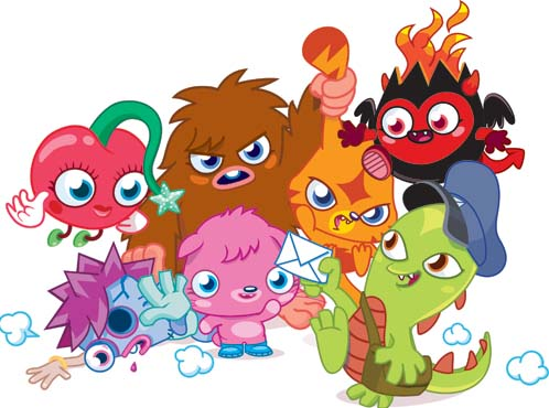 2 new Moshi Monsters games coming to GREE's social platform this year