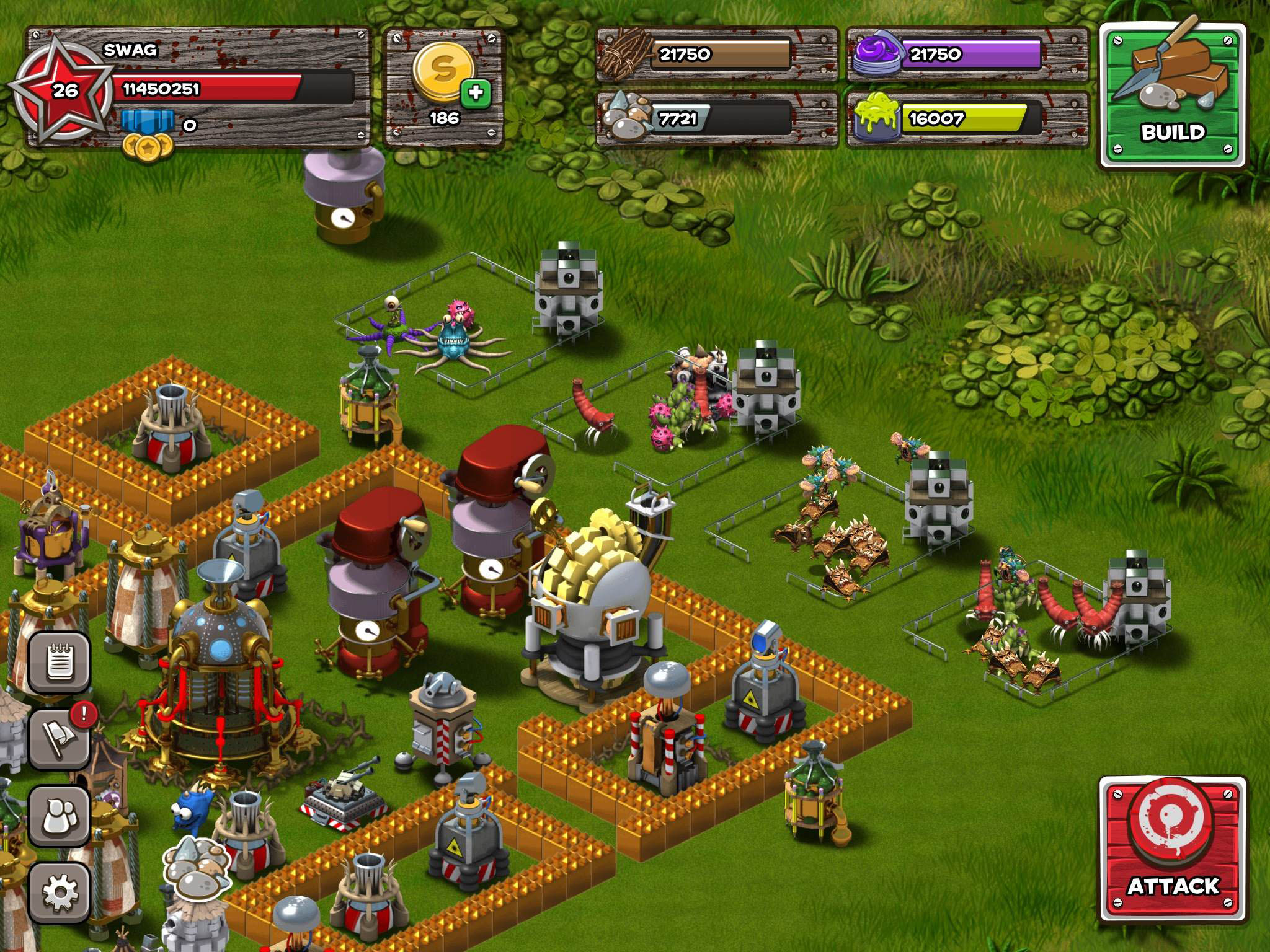 Backyard Monsters: Unleashed IPhone,iPad, Screenshot 2