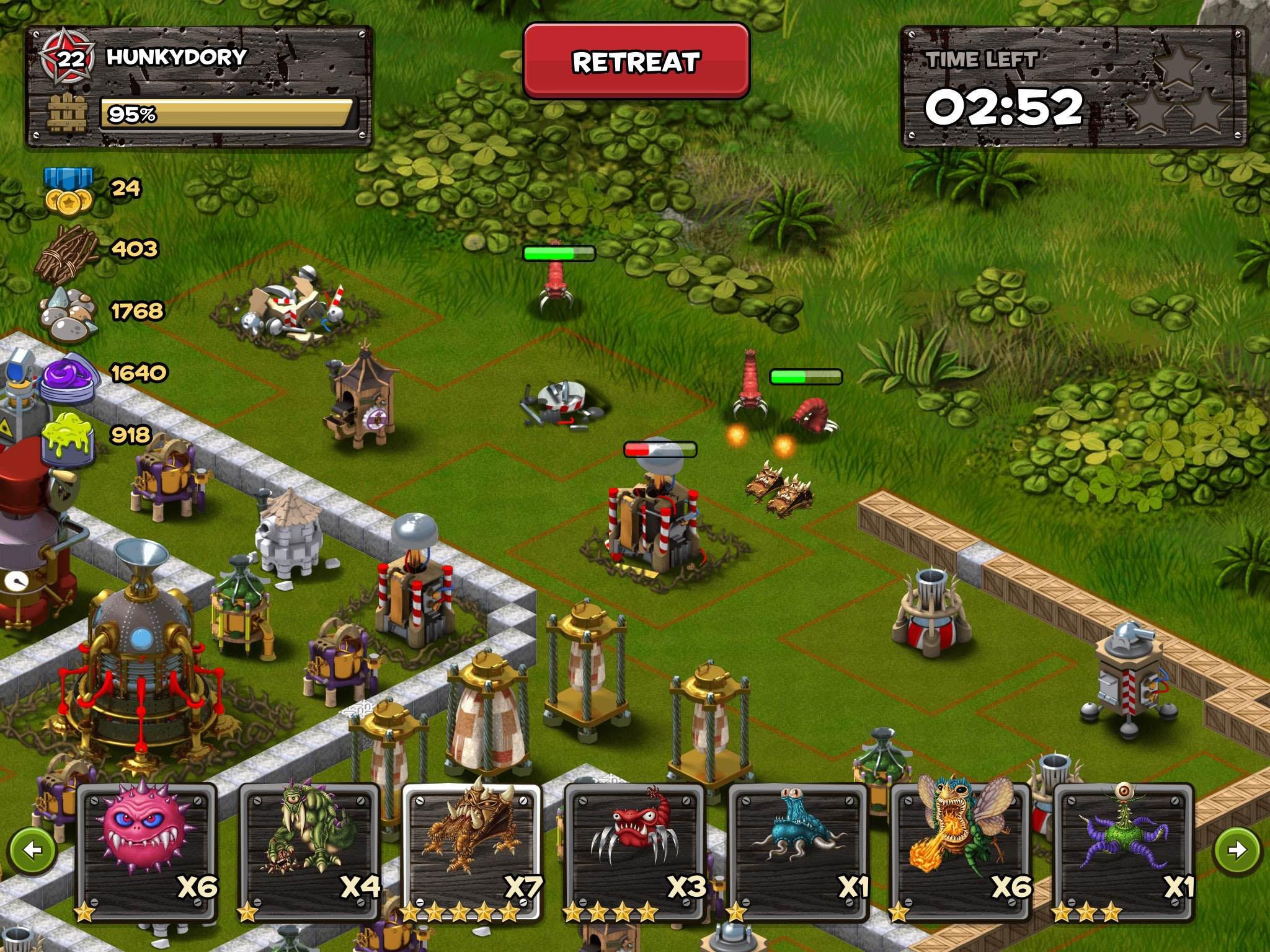 Backyard Monsters: Unleashed IPhone,iPad, Screenshot 4