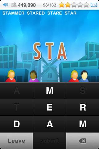 Free iPhone game: Textropolis