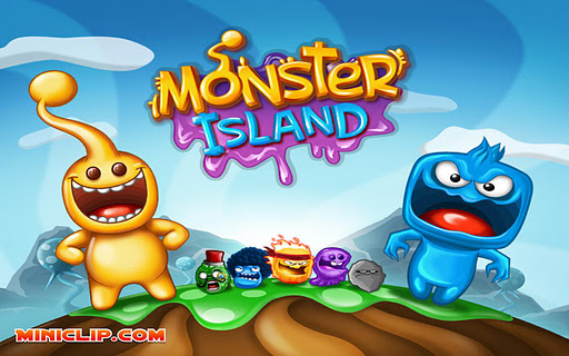 Miniclip's colourful flinger Monster Island lands on Android