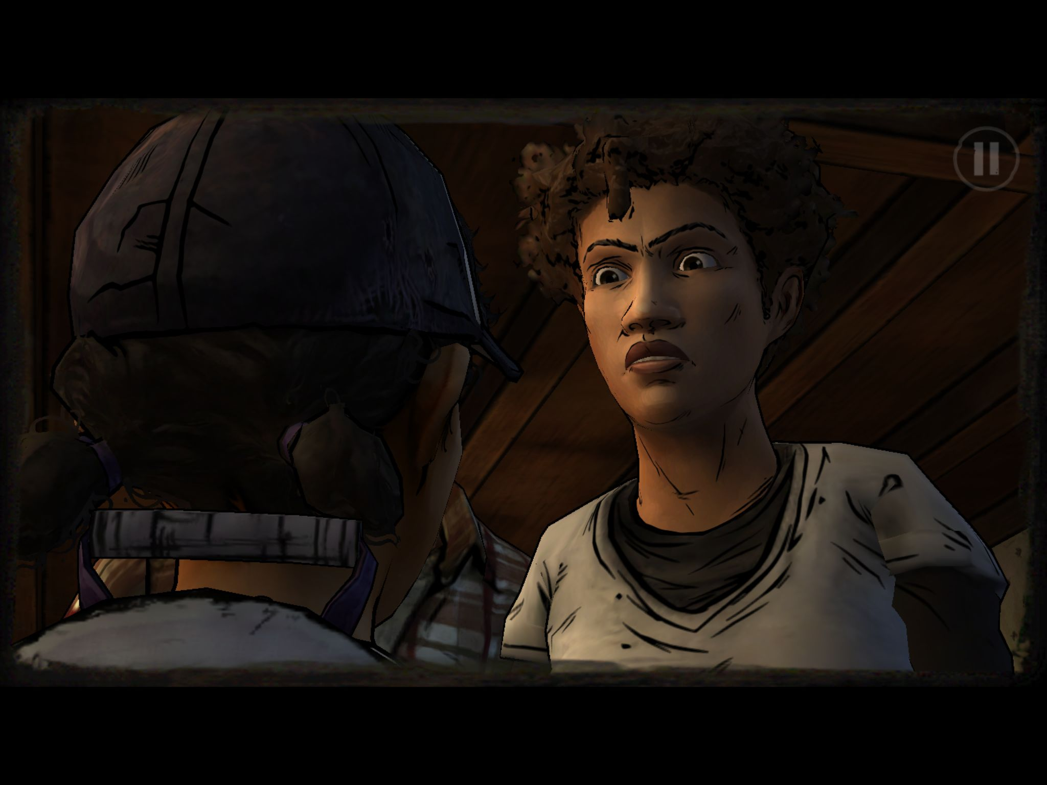 Episode 2 of Walking Dead: Season 2 has just zombie-shuffled onto iOS