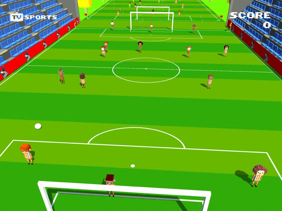 The App Army Assembles: TV Sports Soccer - Endlessly score goals!