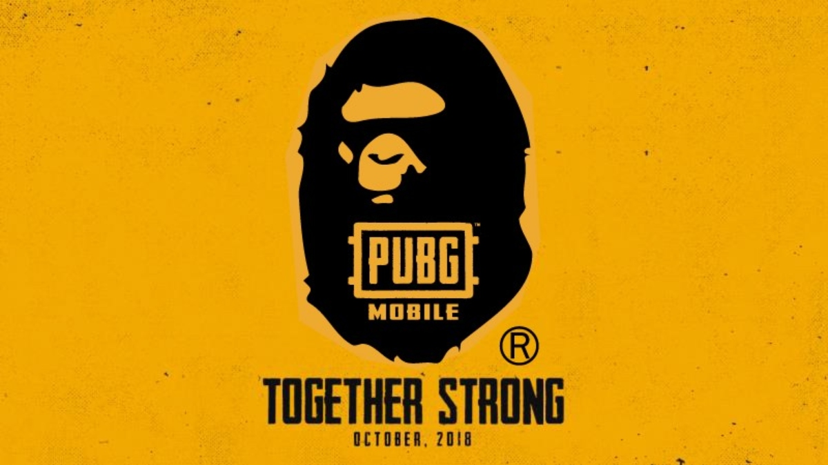 PUBG Mobile partners with popular clothing brand A Bathing Ape
