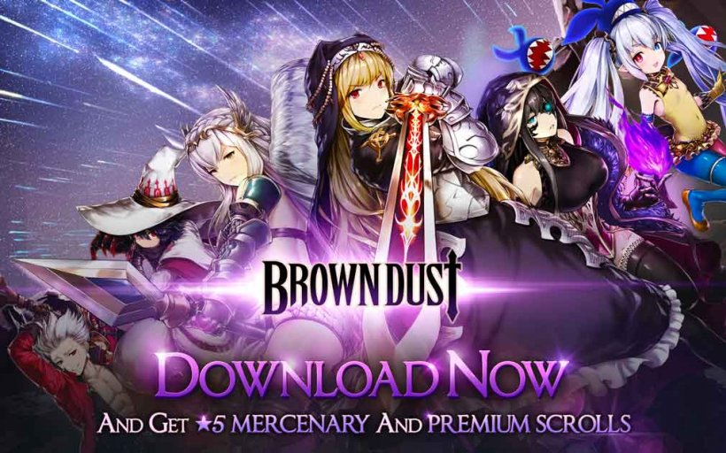 Strategy RPG Brown Dust's huge summer festival begins today