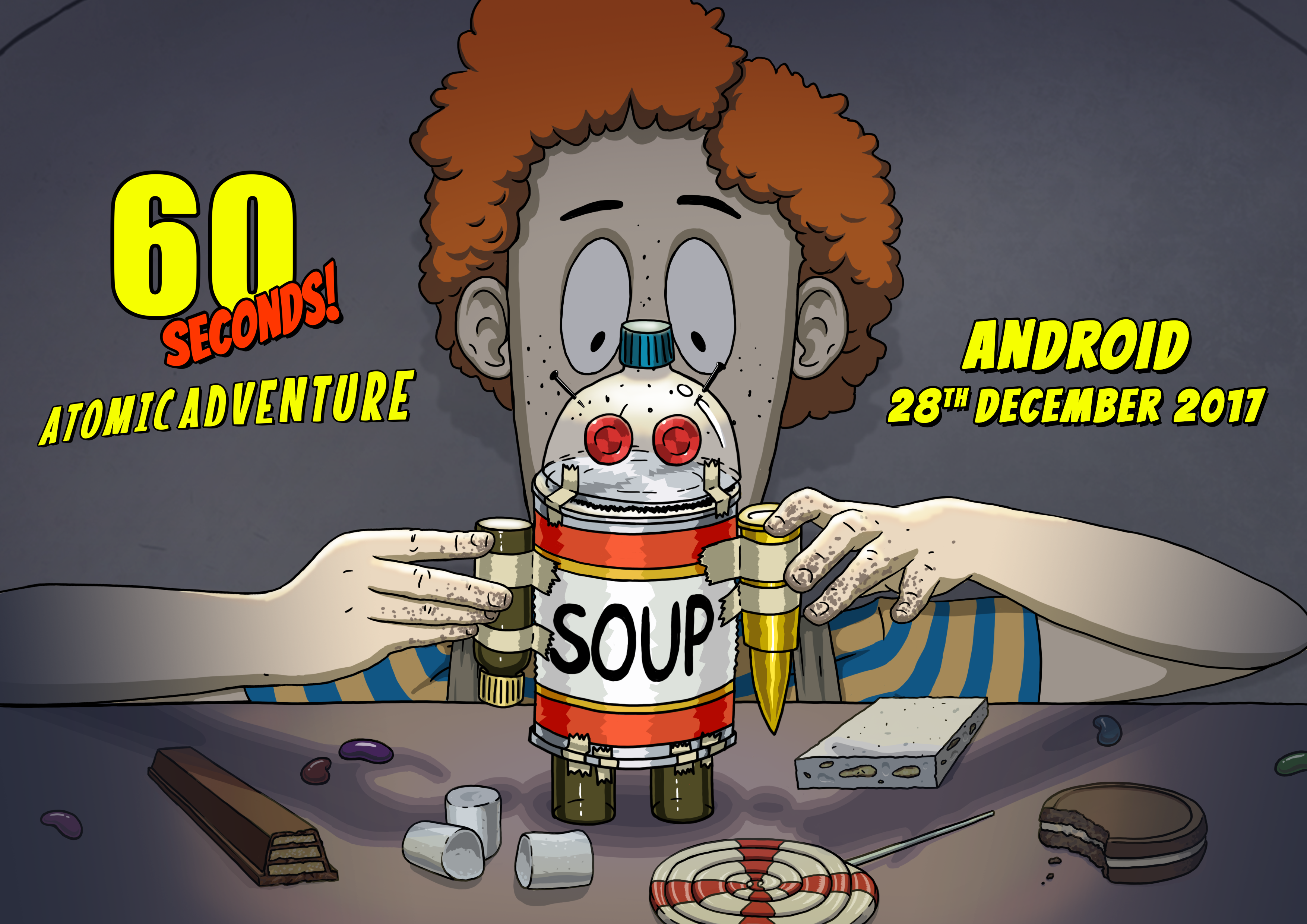 Avoid impending impact in 60 Seconds! Atomic Adventure, launching soon on Android