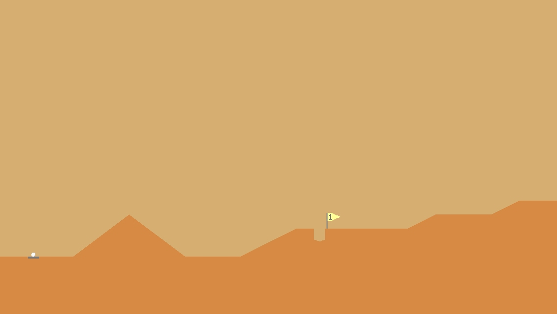 Someone stitched together 10,000 holes in Desert Golfing and made a video