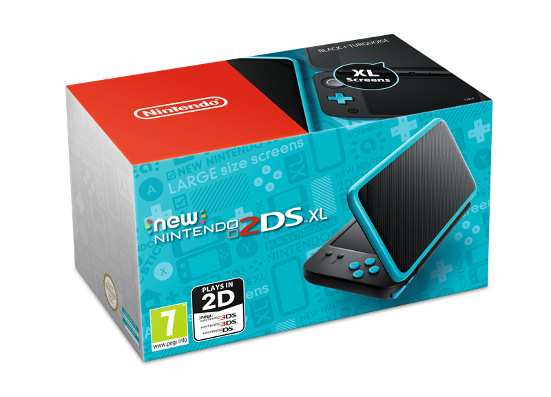 Nintendo announces the new 2DS XL, coming this summer