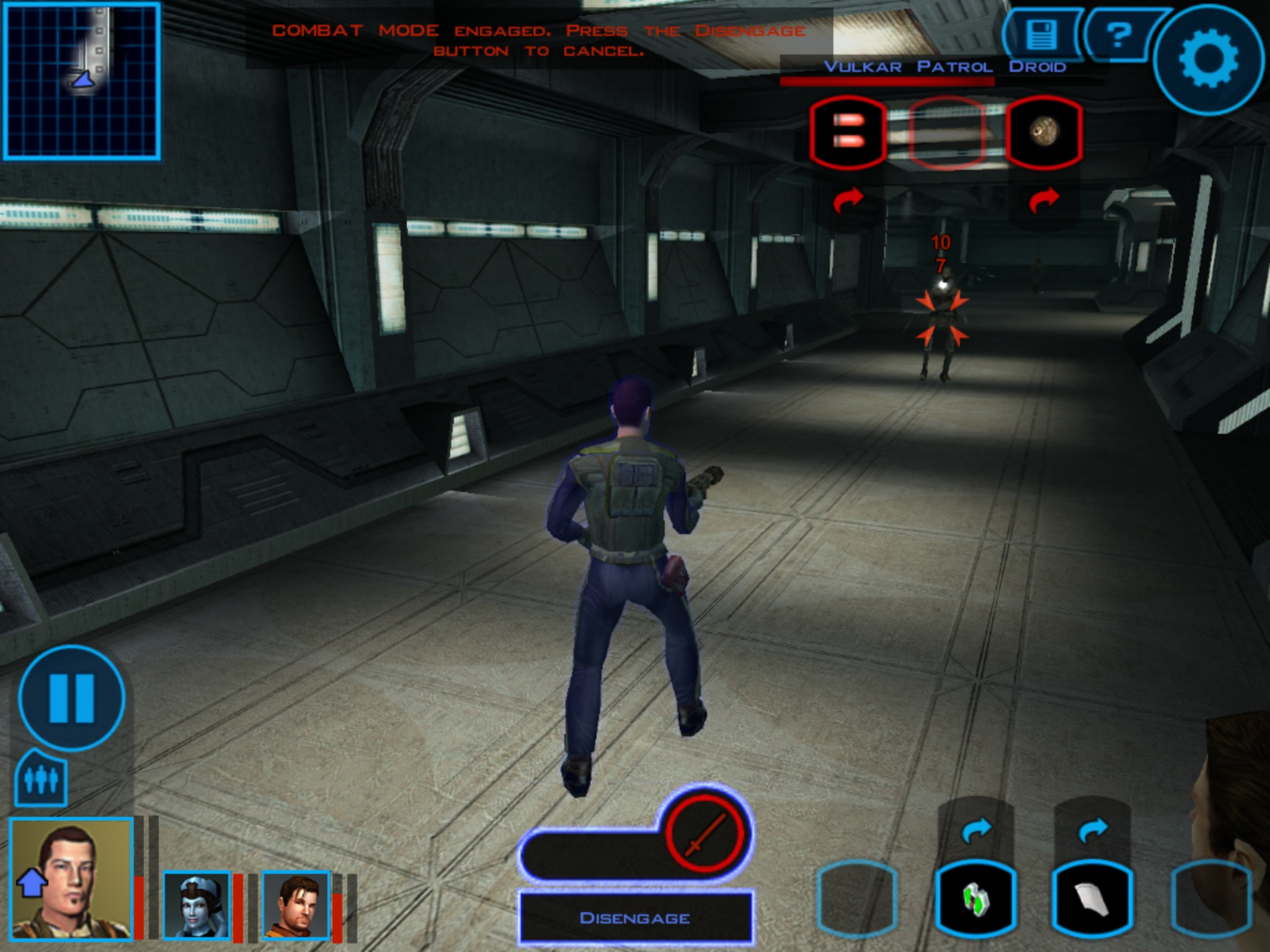 Knights of the Old Republic, Bioware's classic Star Wars RPG, is out right now on Android