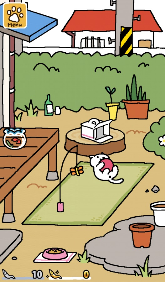 Popular cat-collecting game Neko Atsume is finally available in English
