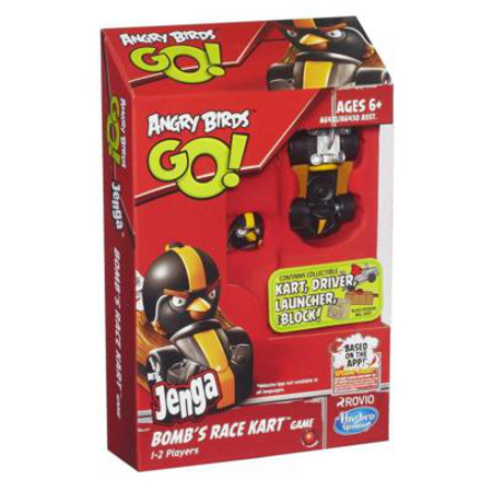 Angry Birds Go! Jenga Race Kart Game - toy guide