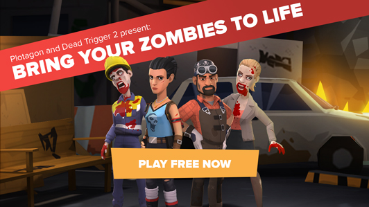 Plotagon lets you create your own Dead Trigger 2 movies, prizes to be won in competition
