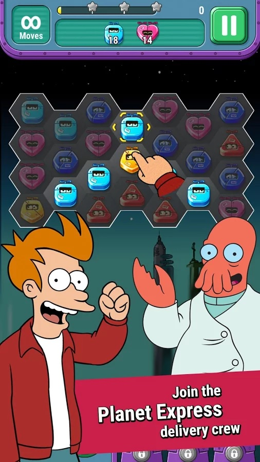 Futurama is getting a new mobile game about delivering dangerous cargo