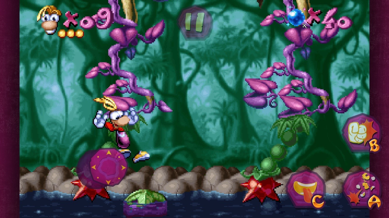 The iconic platformer Rayman Classic drops its prices on iOS and Android