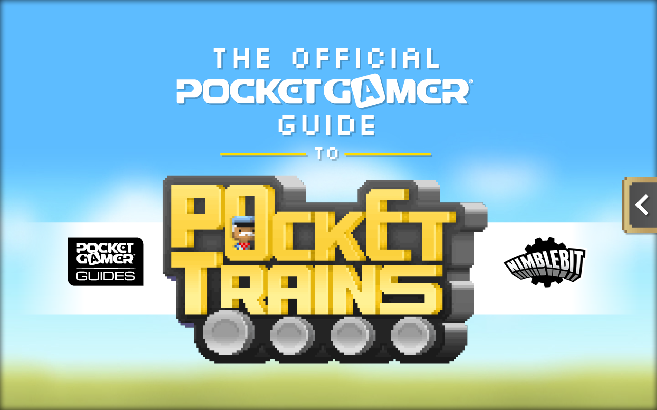 The Official Pocket Gamer Guide to Pocket Trains pulls up at the Google Play Store