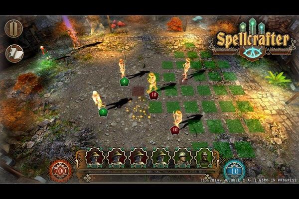 Do a doodle to cast a spell in Jujubee's RPG Spellcrafter: The Path of Magic