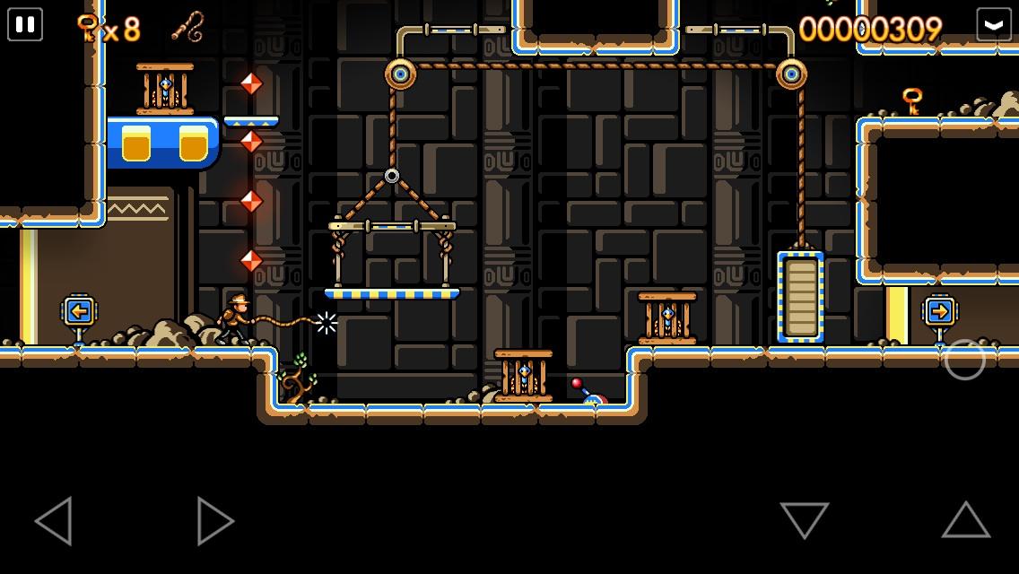 Gold Award-winning iPad and iPhone metroidvania platformer Traps n' Gemstones is on sale for 79p / 99c