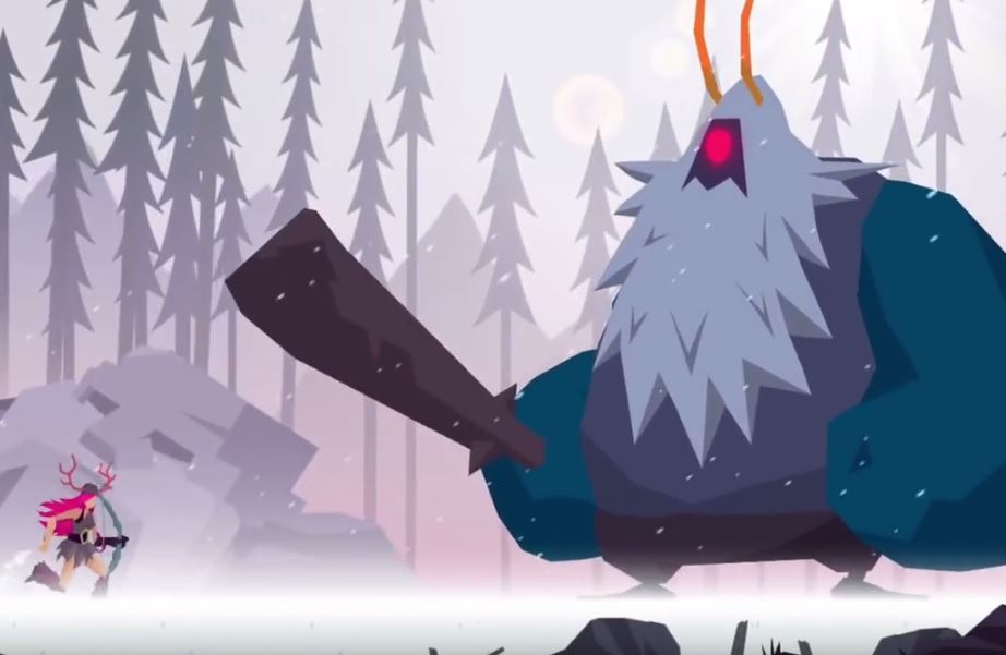 [Update] Vikings: An Archer's Journey is a stunning hybrid of auto-runner and shoot 'em up, out now on iOS