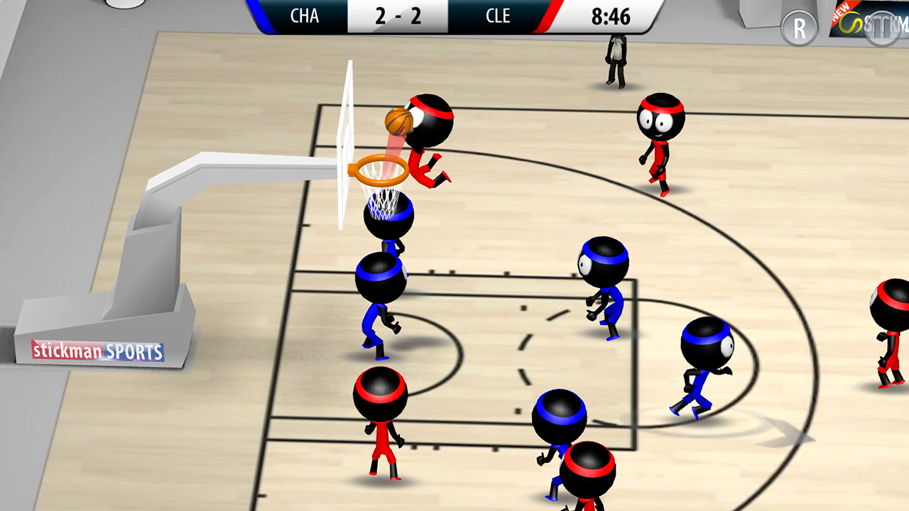 Basketball Stickman