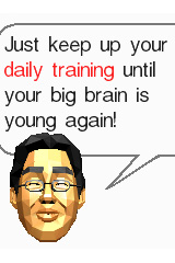 Time for a DS brain boost: Dr Kawashima's back in town