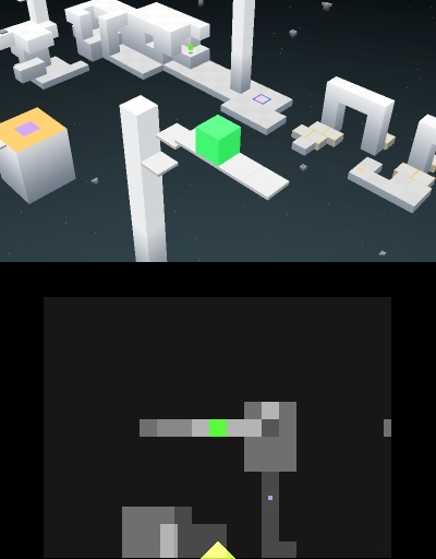 Gold Award-winning minimalist platformer Edge will be available on 3DS on December 26th