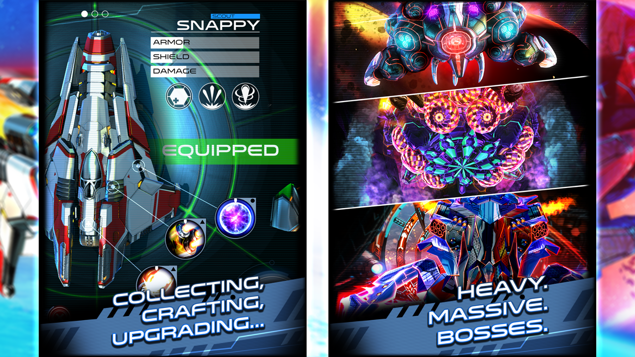 Nekki's new release Space Warrior comes to the App Store
