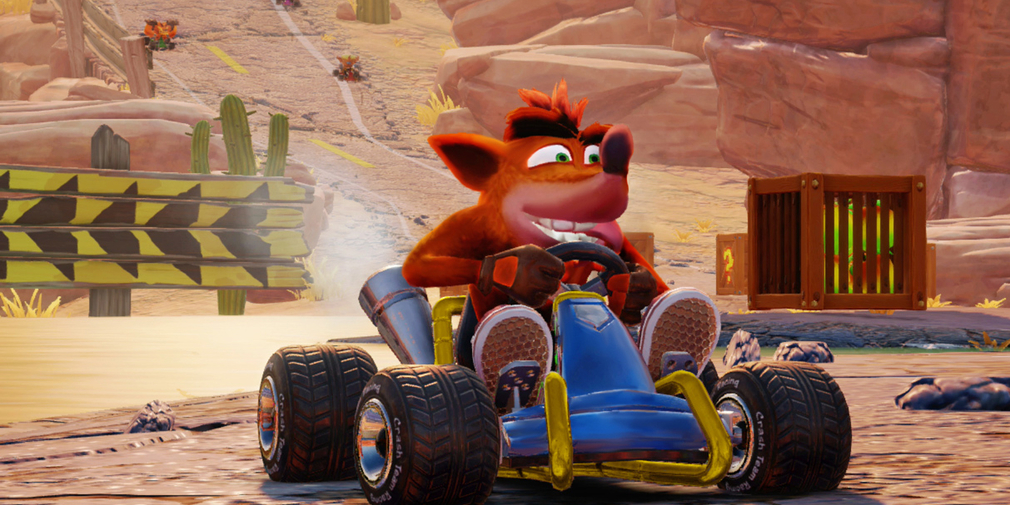 Test de Crash Team Racing Nitro-Fueled