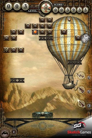 Free iPhone game: ArkanoArena