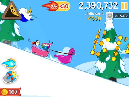 Cartoon tie-in Ski Safari: Adventure Time is out now for iPad and iPhone