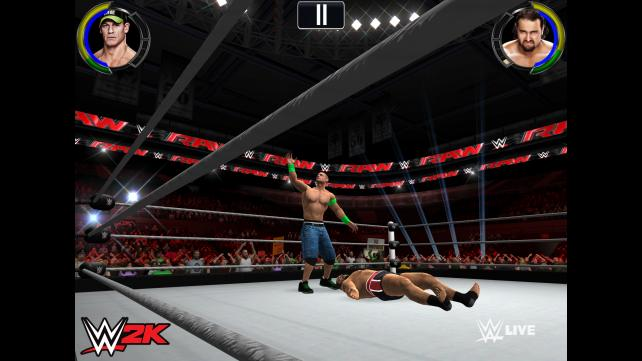 WWE 2K announced, will be the first console-like wrestling sim for iOS and Android