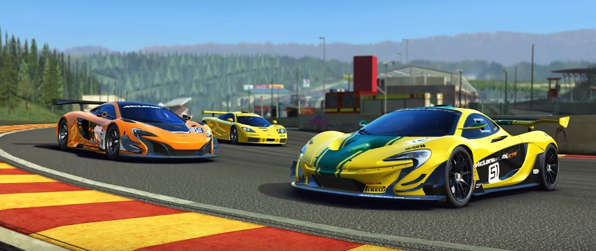 Real Racing 3's latest update celebrates the 20th anniversary of a memorable McLaren victory