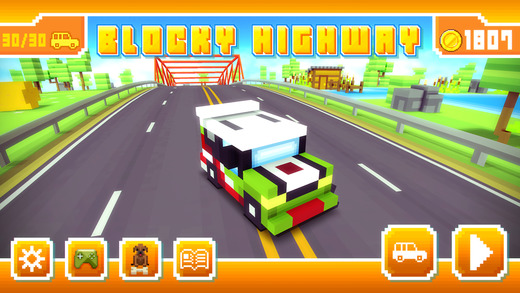 Blocky Highway is a new endless runner by the developer of Blocky Roads