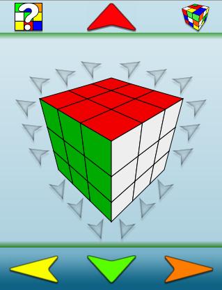 Rubik's Cube for iPhone iPhone, screenshot 1
