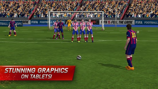 FIFA 15 Ultimate Team, EA's ball-kicking card-collector, is out right now on iOS, Android, and Windows Phone