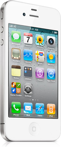 White iPhone 4 now available on the Apple Store