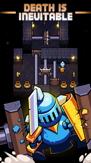 Avoid deadly traps and go as far as you can if you dare in Redungeon, published by Nitrome and out now