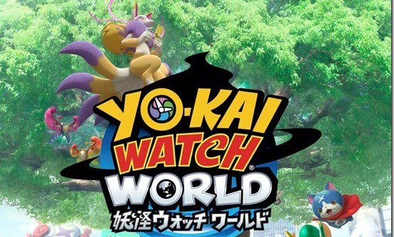 Yo-Kai Watch World is a Pokemon GO-style AR game and it's available right now in Japan